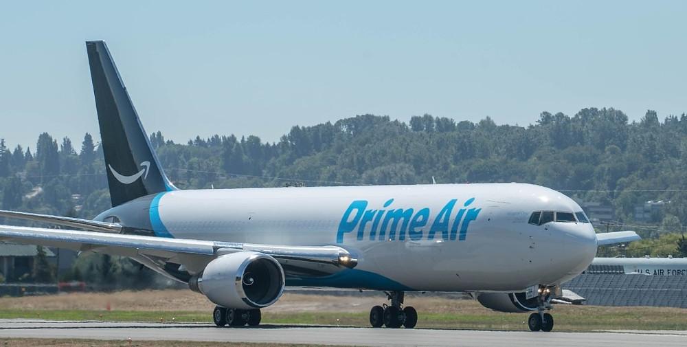 Aviação: Amazon Air fecha compra de 11 Boeing B767-300