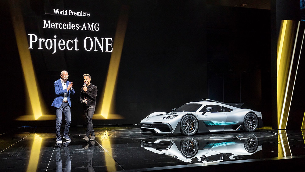 Equipado com a tecnologia híbrida da Fórmula 1, Project ONE é apresentado como futuro da divisão de superesportivos da AMG