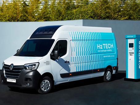 Renault e Hyvia revelam Master a hidrogênio