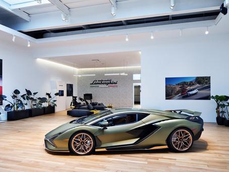 Fotos: Lamborghini lança espaço privado e exclusivo na cidade de Nova York