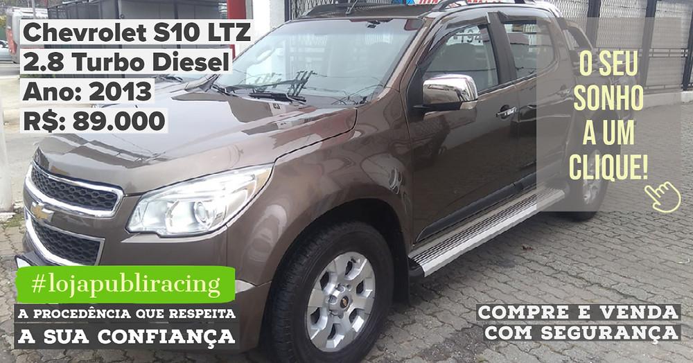 ACESSE #LOJA CLICANDO - Chevrolet S10 LTZ 2.8 Turbo Diesel