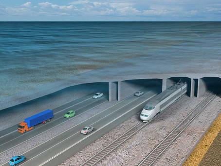 Ferrovia: Começam as obras no túnel submerso entre a Alemanha e a Dinamarca