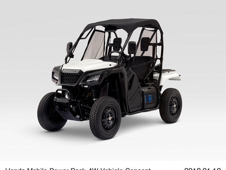 Honda leva dispositivos de robótica e soluções de gerenciamento de energia para a CES 2018