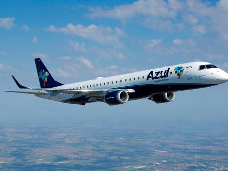 Embraer e Azul assinam contrato de gestão de manutenção para frota de jatos E190 e E195
