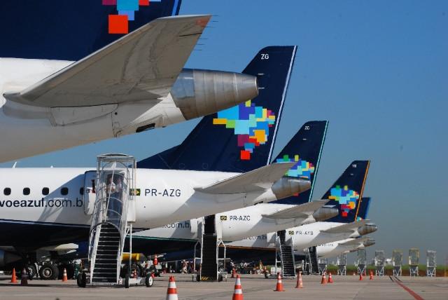 Azul estreia operações em Punta del Este, no Uruguai