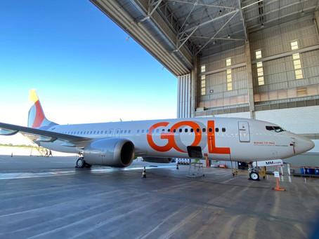 Gol alerta sobre o cancelamento de voos entre 1 e 30 de abril de 2021