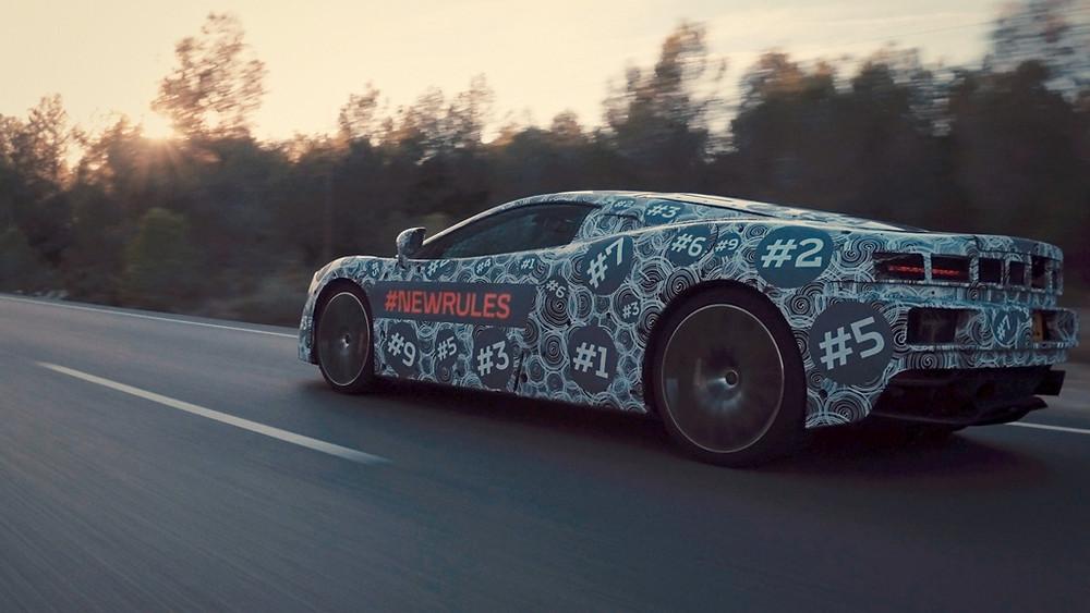 CEO da McLaren anunciou intenção da marca em apresentar um novo Grã-Turismo
