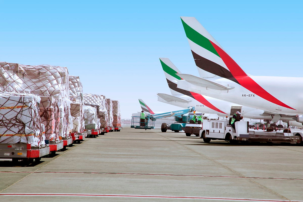 Emirates SkyCargo abre uma nova rota comercial para a América do Sul