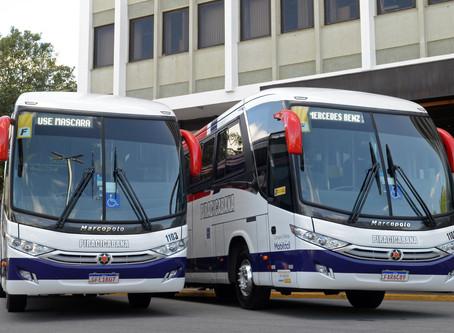 Mercedes-Benz vende 116 ônibus de fretamento para o Grupo Comporte