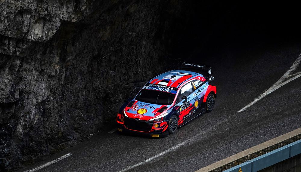 WRC: Tänak em Hyundai na liderança do Rali de Monte-Carlo