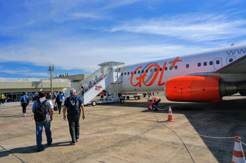 GOL anuncia cancelamento de todos os voos internacionais e de até 60% da malha doméstica