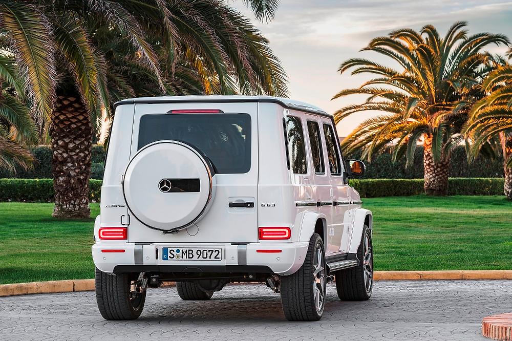 Mercedes-Benz Classe G completa 40 anos mantendo design e robustez