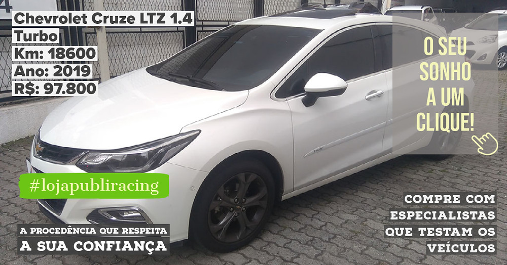 ACESSE #LOJAPUBLIRACING CLICANDO - Chevrolet Cruze LTZ 1.4