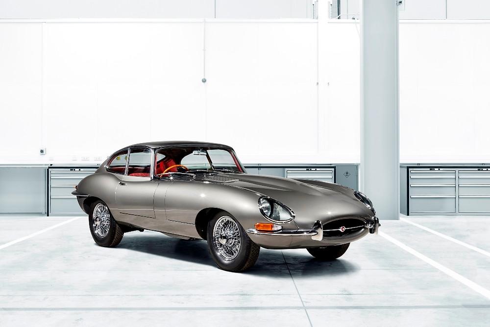 Jaguar Classic apresentará 10 unidades restauradas do E-Type