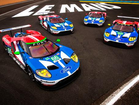 Pole Position para o novo Ford GT na categoria LM GTE Pro em Le Mans