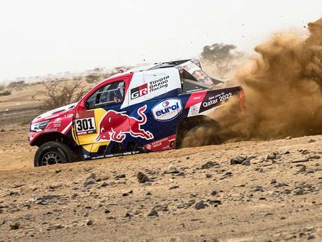 Dakar: Segunda etapa teve dunas e bom desempenho de brasileiros e portugueses