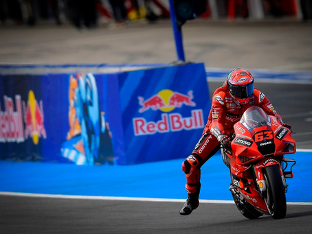 MotoGP: Bagnaia mais rápido que Quartararo lidera o primeiro dia em Jerez