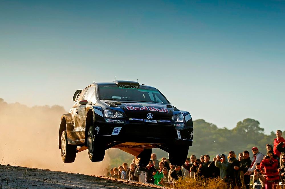 Latvala, em Volkswagen, lidera na Argentina