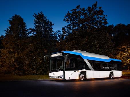Solaris fecha contrato de 123 ônibus elétricos para a Romênia
