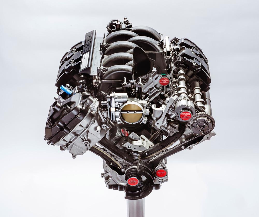 Motor de 540 CV do Mustang Shelby GT350 é um dos eleitos do tradicional, 10 Best Engines