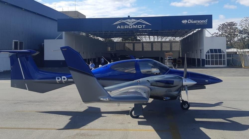Aviação: Primeiro Diamond DA42-VI já está no Brasil