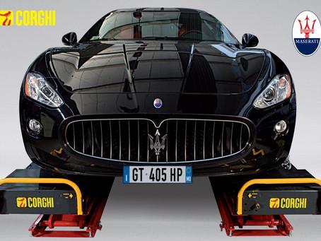 Corghi renova contrato com Maserati