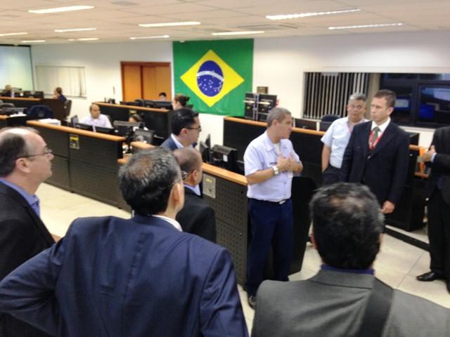 Abesata visita CGNA para falar de Rio 2016 e definir presença permanente na organização