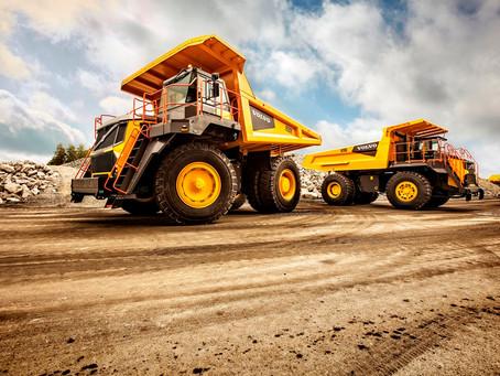 Volvo CE lança o novo caminhão rígido fora de estrada R70D na América Latina