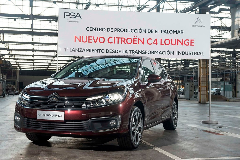 Groupe PSA inicia a fabricação do Novo Citroën C4 Lounge no Centro de Produção de Palomar, na Argentina