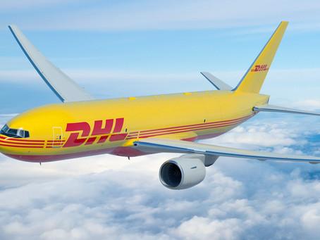 Aviação: DHL Express reforça sua frota com a compra de oito novos Boeing 777