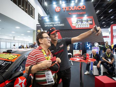 Automec 2019: Texaco é o lubrificante oficial e leva a emoção das pistas para o evento