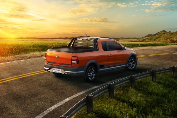 Volkswagen Nova Saveiro com novo design, mais robusta e tecnológica