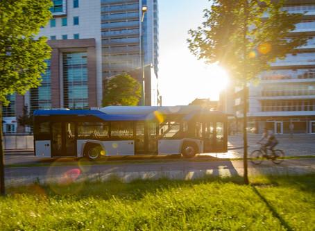 Solaris vai entregar mais 9 ônibus elétricos para a cidade polonesa de Radom
