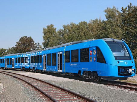 Alstom apresenta primeiro trem com célula de hidrogênio.