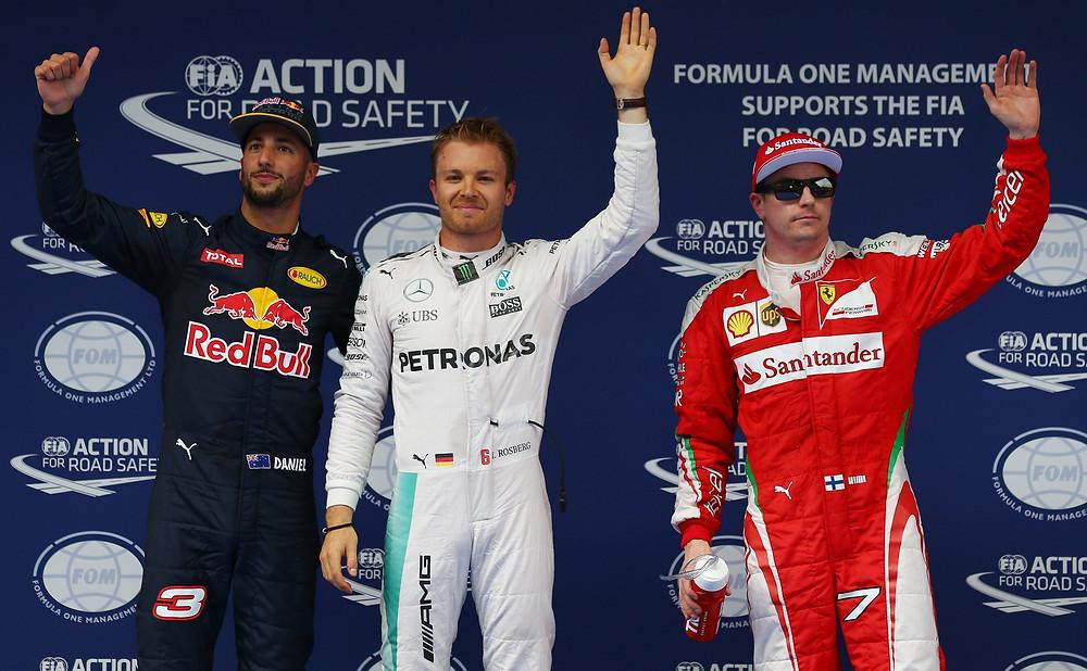 Shangai mantém momento positivo de Rosberg e piloto alemão larga na frente