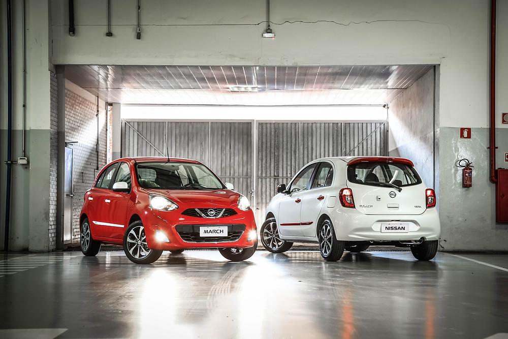 Nissan apresenta novidades em  conectividade para as linhas March e Versa