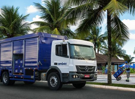 Mercedes-Benz vende 450 caminhões para transporte de bebidas