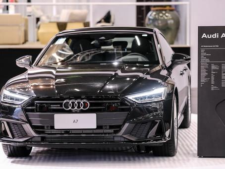 Novo Audi A7 é exposto no São Paulo Boat Show