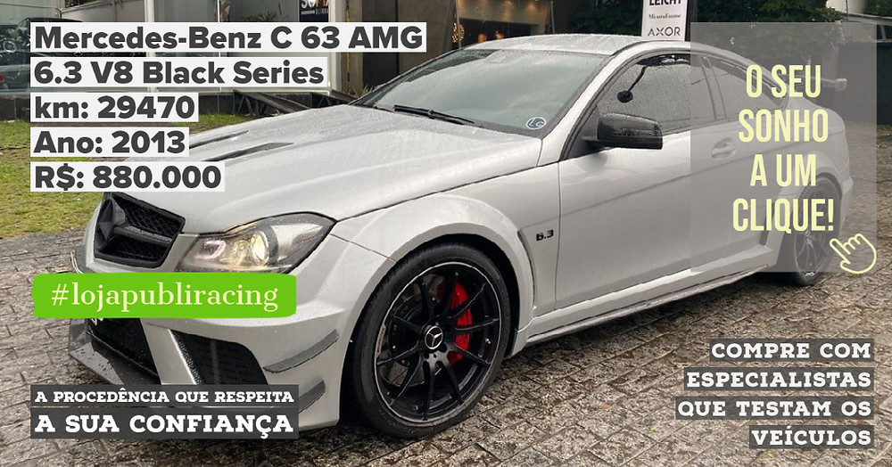 ACESSE #LOJA PUBLIRACING - Mercedes-Benz C63 AMG Ano 2013