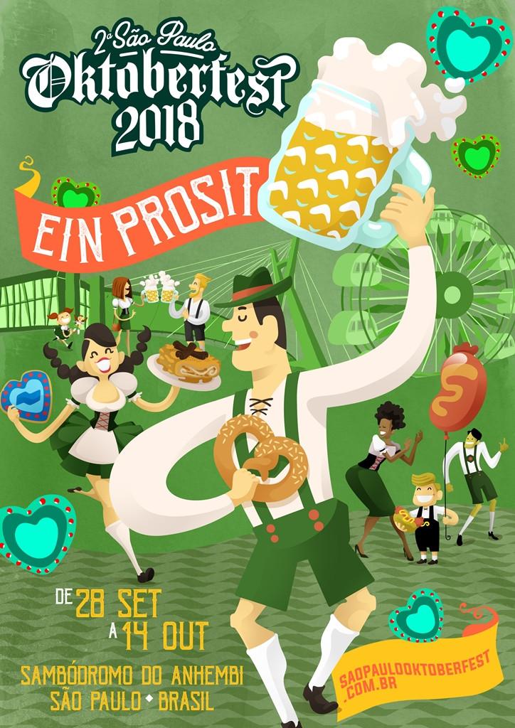 2ª edição da Oktoberfest de São Paulo inicia venda de ingressos