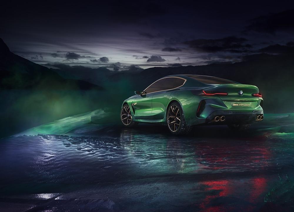 O BMW Concept M8 Gran Coupé quer ser o modelo mais emblemático da BMW