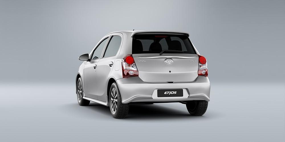 Toyota Etios 2019 chega com nova versão e mais itens de segurança