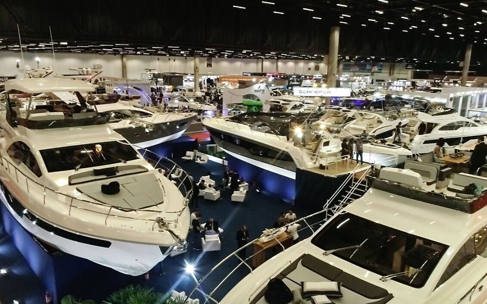 São Paulo Boat Show 2019, maior salão náutico indoor da América Latina, acontece em setembro