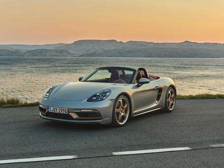 Versão limitada de aniversário para celebrar os 25 anos da família roadster da Porsche