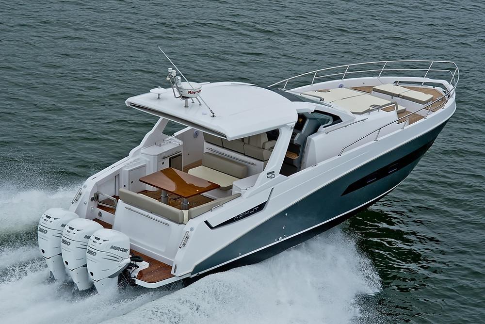Náutica: Iate com design esportivo, Verve 40 garante adrenalina e conforto sobre as águas