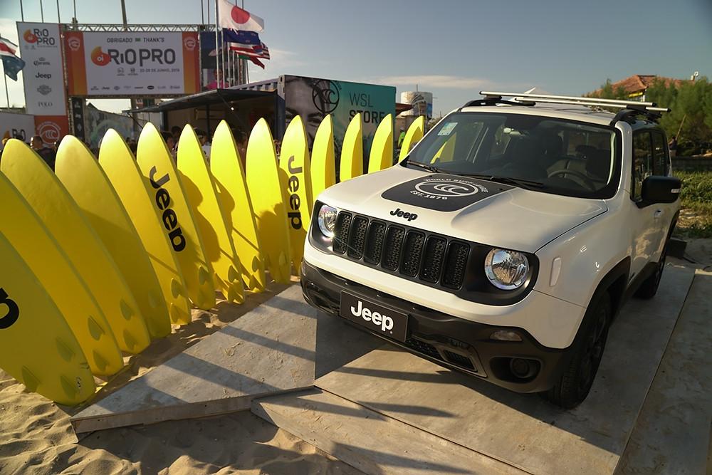 Jeep Renegade entra na onda do Surf com edição limitada de 500 unidades