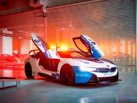BMW i8 Coupé estreia como Safety Car na Fórmula E