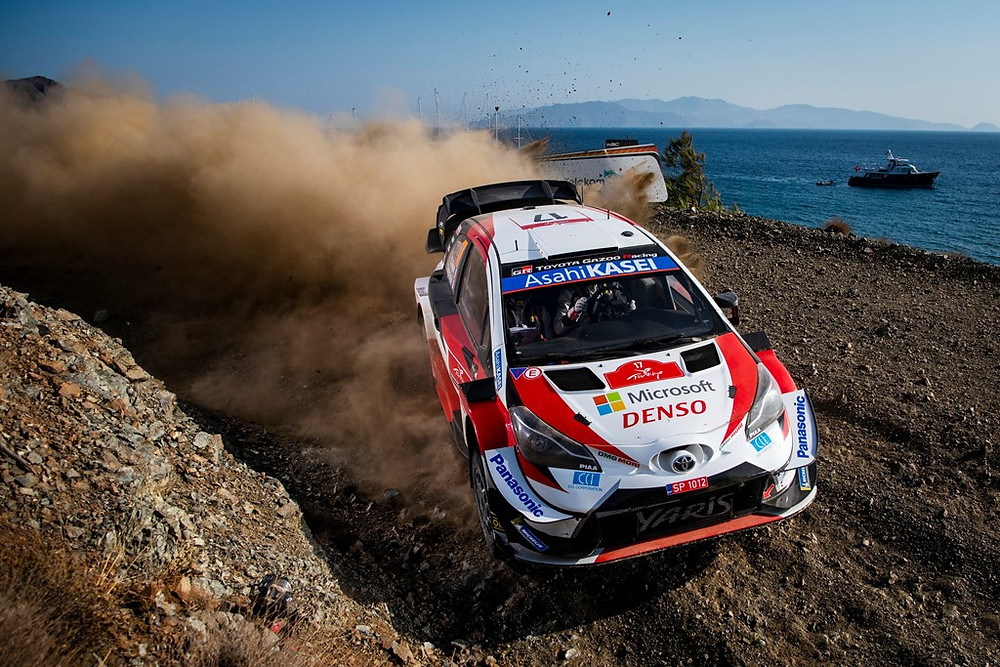 S Ogier / J Ingrassia FRA Toyota Yaris