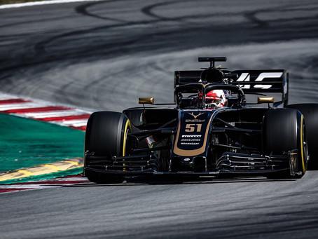 Pietro Fittipaldi testa F1 da Haas nos testes coletivos em Abu Dhabi