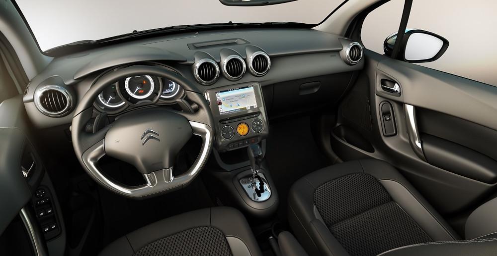 C3 ganha Central Multimídia com tela touchscreen de 7 polegadas